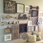 wooden accents home decor